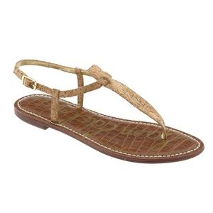Sam Edelman Gigi Sandal / Natural Cork